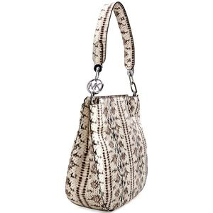 Michael Kors Fulton Large Snake Embossed